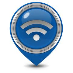 signal pointer icon on white background