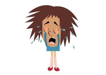 dziewczyna,płacz,rozpacz