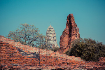 Ancient ruins of temple in Thailand