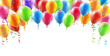 Balloons header background - 77215325