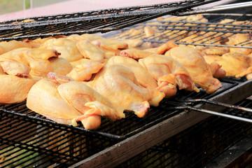cottura pollo alla griglia