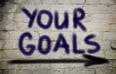 Your Goals Concept
