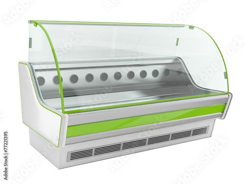 Keuken foto achterwand Boodschappen Refrigerator showcases