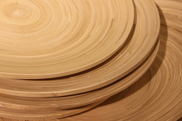 Concentric circles wood grain