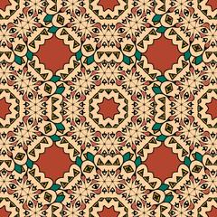 Decorative seamless pattern japan style wallpaper