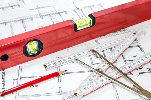 Vermessung Bauplan - 77225911