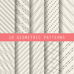 grometric formal patterns