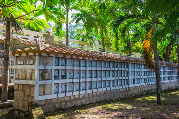 cemetery for peoples, who died during war between Vietnam and U