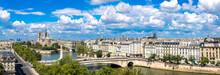 "Постер, картина, фотообои ""Seine and Notre Dame de Paris"""