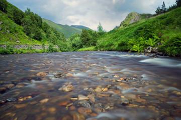 Small river in Scotland