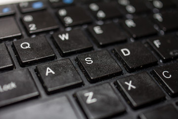 Part of computer keyboard