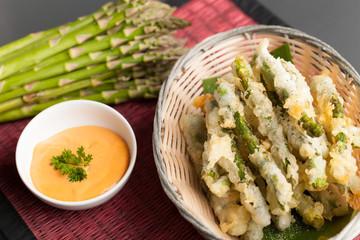 Thai Fried Asparagus