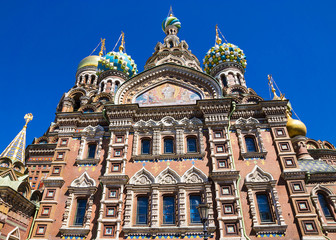Church of the Saviour on Spilled Blood in St. Petersburg, Russia