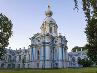 Smolny Cathedral, St. Petersburg (white night)