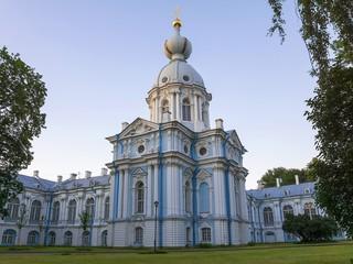 Smolny Cathedral, St. Petersburg (white night)