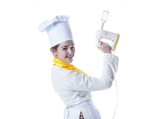 cook with mixer