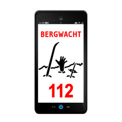 hb29 HeartbeatBanner - mountain rescue - Bergwacht - V29 g3098