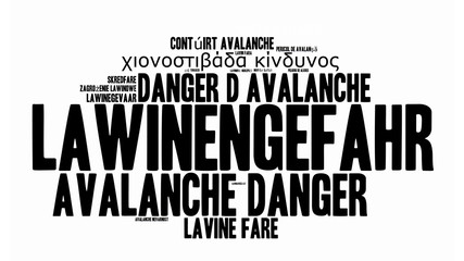 ad3 AvalancheDanger - Lawinengefahr 3 - word cloud - 16to9 g3100