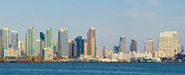 San Diego California, USA  downtown business