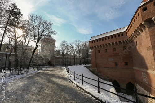Cracow | planty | Florian Gate | Barbakan - 77243937