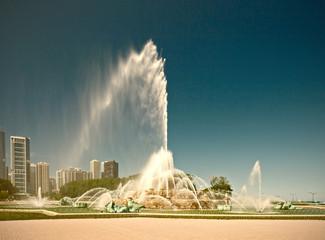 Chicago, Illinois, USA. Buckingham Fountain