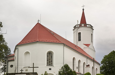 Peter and Paul Church in Bogatynia. Poland