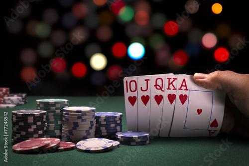 Poker Hand - 77246542