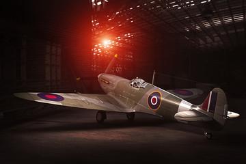 Spitfire Mk.V - modelled in 3D