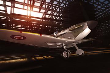 plane - modelled in 3D