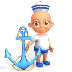 Baby Jake sailorman
