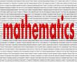 kırmızı renkli matematik yazısı