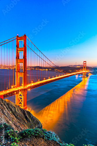 Golden Gate, San Francisco, California, USA. - 77251737