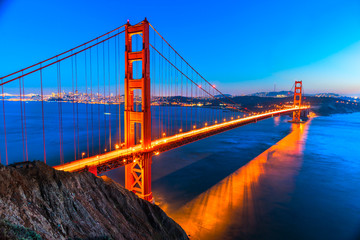 Golden Gate, San Francisco, California, USA.