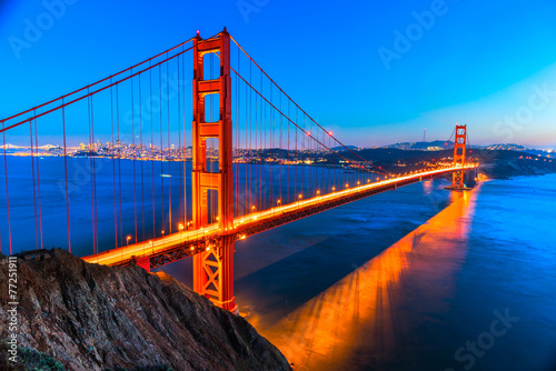 Golden Gate, San Francisco, California, USA. - 77251911