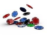 Fototapety casino poker chips