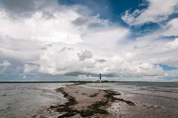 Sorve lighthouse on Saaremaa island in Estonia.