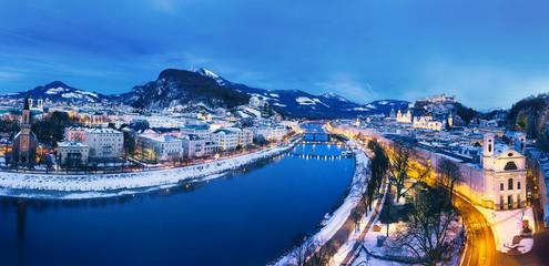 Salzburg City - Panorama View