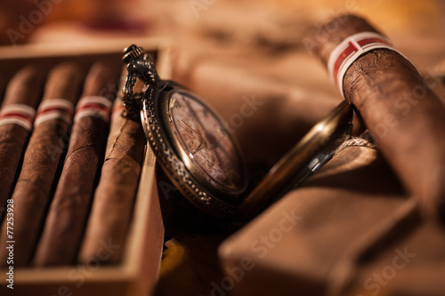 Couple boxes of fine cigars - a great gift from best friend - 77253928