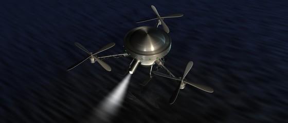 Drone - zoeken boven water