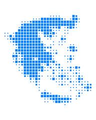 Karte von Griechenland