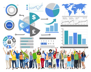 Financial Business Economy Exchange Accounting Banking Concept