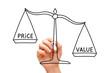 Value Price Scale Concept - 77258377
