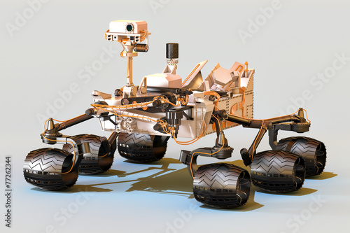canvas print picture Mars Rover Curiosity