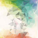 Fototapety Pastel Polygon Geometric