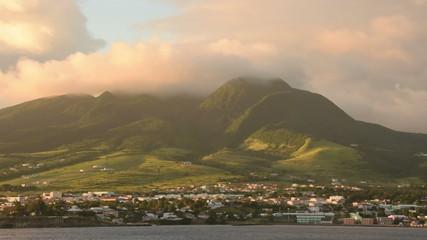 Caribbean island Saint Kitts