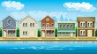 houses suburb - 77264919