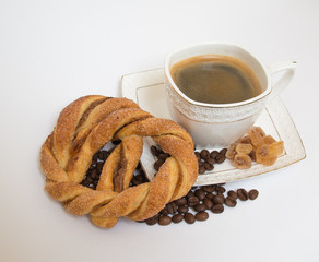 coffee with pastries
