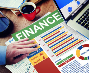 Finance Business Management Money Office Place Work Concept