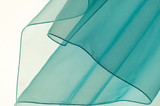 Blue transparent fabric  texture