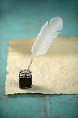 Inkwell and Feather